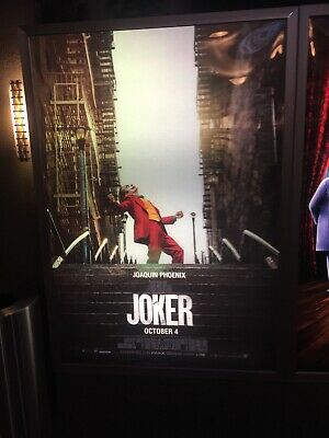 JOKER Joaquin Phoenix Movie of the Year DC Comics 2019 BUS SHELTER POSTER 4'x6'