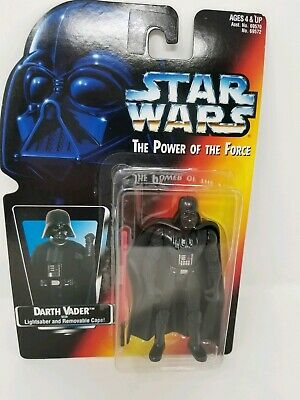 Vintage 1995 Star Wars DARTH VADER Lightsaber/Remove Cape The Power Of The Force
