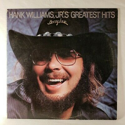 "Hank Williams Jr.'s Greatest Hits 1982 Warner Bros / Curb 12"" 33 RPM LP (VG+)"