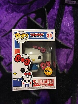 Funko Pop Sanrio Hello Kitty (8 Bit) 45th Anniversary Chase Vinyl Figure