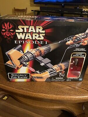 Star Wars Ep.1 - Sebulba's Pod Racer w/Spring-Out Spinning Blade