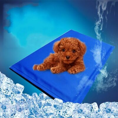 50*40cm Large Dog Cat Pet Self Cooling Gel Mat Summer Weather Bed Kitten Puppy