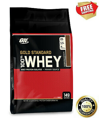 OPTIMUM NUTRITION 100% WHEY 10Lb 4.5kg All Flavours Brand New - Free Delivery
