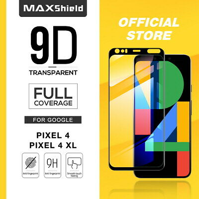 Google Pixel 4 XL MAXSHIELD Full Cover Premium Tempered Glass Screen Protector