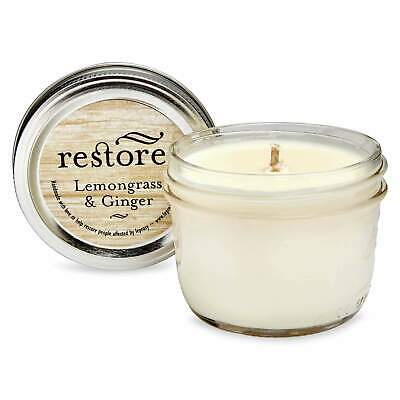 Restore Scented Candle Lemongrass and Ginger
