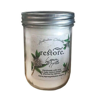 Restore Scented Candle Lemon and Myrtle