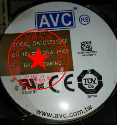 1PC AVC DATC1551B8F DC48V 3.25A 172*150*51 Fan 90 warranty #M319D QL