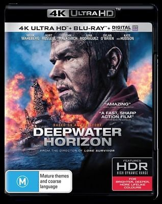 Deepwater Horizon : NEW 4K UHD Blu-Ray
