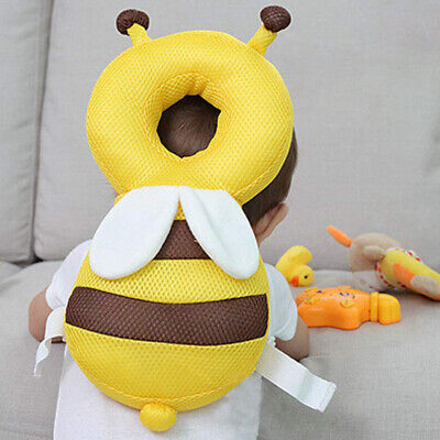Baby Bee Head Neck Protector Headrest Pillow Drop Resistance Safety Cushion Pad