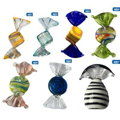 5x Vintage Murano Glass Sweets Candy Wedding Party Christmas Home Decor Esdtu