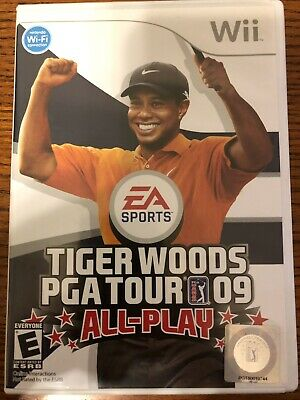 Tiger Woods PGA Tour 09: All-Play Game Complete! Nintendo Wii