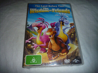 The Land Before Time - The Wisdom of Friends - New Sealed DVD - R4