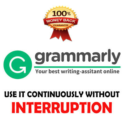 Grammarly Premium Account Without Any Interruption - Use It continuously!