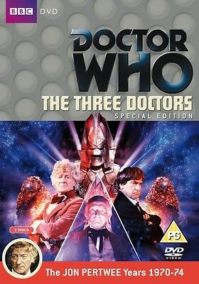 Doctor Who The Three Doctors (2 Disc Special Edition) Dr Who BBC  Pertwee MINT !