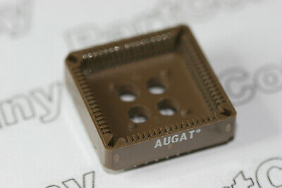 Augat PLCC 68 Pin IC Socket Adapter Converter Through Hole