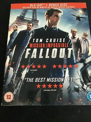 Mission: Impossible - Fallout (Includes Bonus Disc & Slipcover) [Blu-ray]