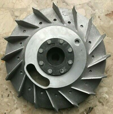 Flywheel, Piaggio, for Vespa Ape 50 threewheeler, genuine, NOS