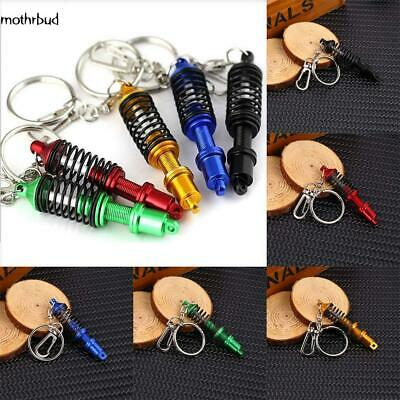1 Pcs Creative Modified Spring Shock Absorber Model keychain M5BD 01