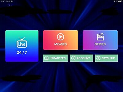 1 months IPTV + vod   subscription  Smart Tv, Android, Smarters, mag etc )