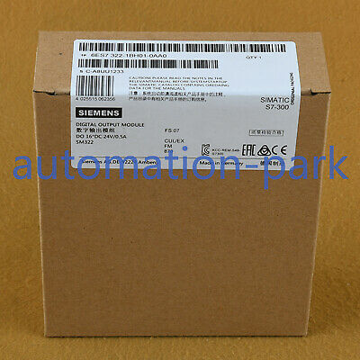 SIEMENS SIMATIC 1P6ES7322-1HH01-0AA0 RELAY OUTPUT MODULE NEW IN BOX