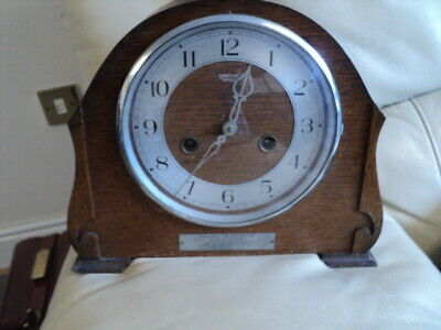 "Vintage Smiths Enfield Chiming Pendulum Mantle Clock With Key ""Not Working""?"