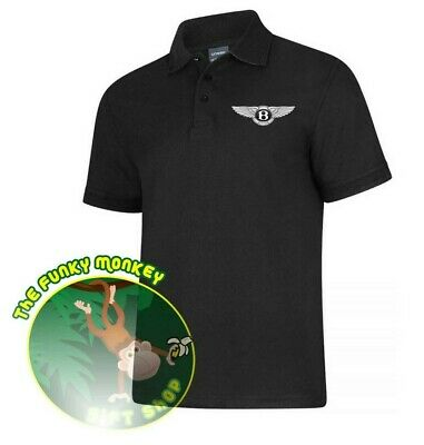 BENTLEY LOGO Polo Shirt UC108 - XSmall up to 8XL*