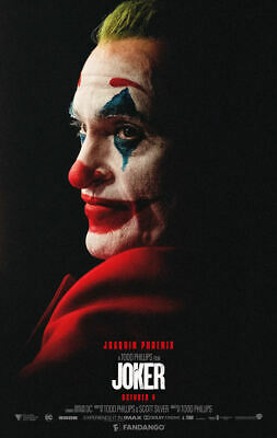 "Joker  ( 11"" x 17"" ) Movie Collector's Poster Print (T6) B2G1F"