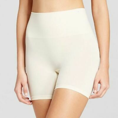 JKY by Jockey Women's Slimming Shorts Sandy Shimmer - L - NWT