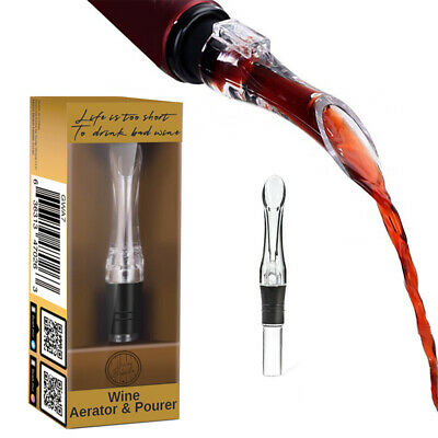 Guay Bebida Portable Premium Bottle Red Wine Aerator Pourer and Decanter Spout