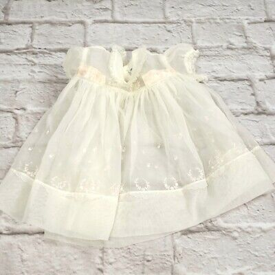 Vintage Nannette Baby Girl Dress size 12 Months