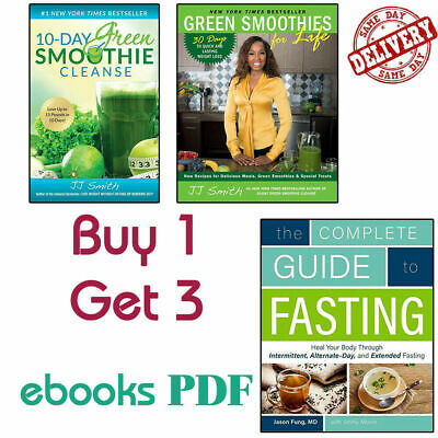 10 Day Green Smoothie Cleanse by JJ Smith P.D.F Fast Delivery