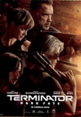 Terminator Dark Fate Odeon Official Movie Film 2019 Poster - Deliver to Europe