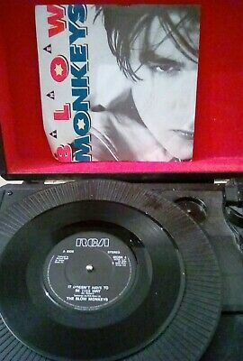 "The Blow Monkeys ‎– It Doesn't Have To Be This Way Vinyl 7"" Single RCA 1987 p/s"