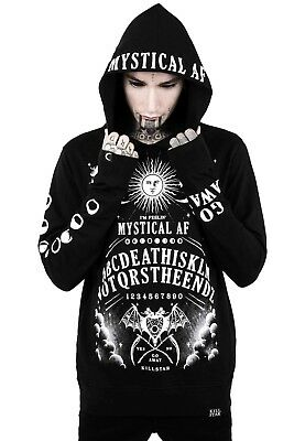 KILLSTAR - Not The End Hoodie Gothic Goth Pullover Jumper Mens Ouija Punk Small