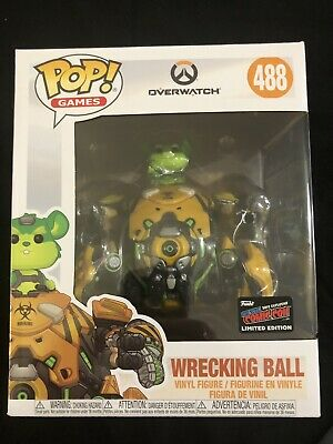 Funko Pop Overwatch Wrecking Ball NYCC New York Comic Con Exclusive Official