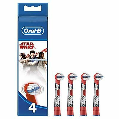 Oral-B Genuine Kids Stages Star Wars Replacement Red Toothbrush Heads, Refills f