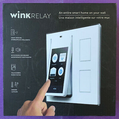Wink Relay Smart Home Automation Wal Controller *New* Open Box