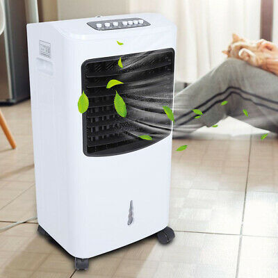 Portable Air Conditioning Unit Fan Low Noise Cooler Humidifier Cooling System