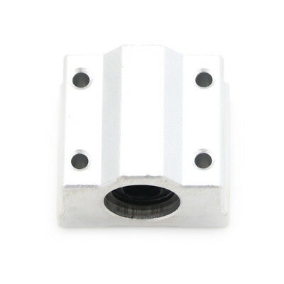 SC8UU Linear Bearing Slide Block Bracket - 8mm Shaft - 3D Printer  CNC RepRap S&