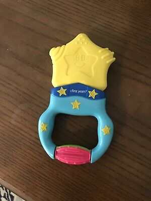 Vibrating Infant Teething Ring Tomy First Years