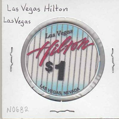Vintage $1 chip from the Las Vegas Hilton Casino (1994) Las Vegas