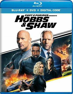 Fast AND Furious Presents Hobbs & Shaw-BLURAY ONLY with Case/artwork - Ships Now