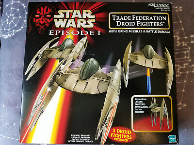 20th Anniversary Star Wars Episode 1 Vulture Droid Trade Federation Fighters TPM