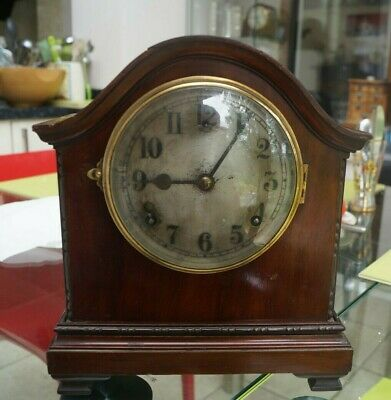 American GILBERT mantel clock with time strike.