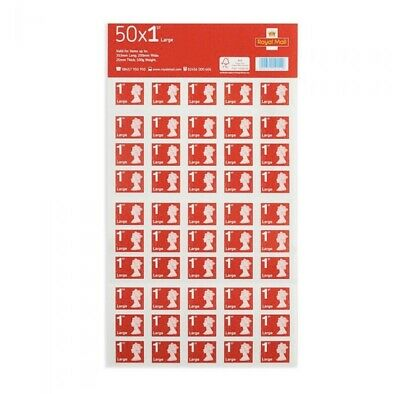Royal Mail 50 1st Class Stamps Large