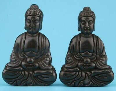 Unique China Jade Hand-Carved Buddha Carved Spiritual Gift Collection