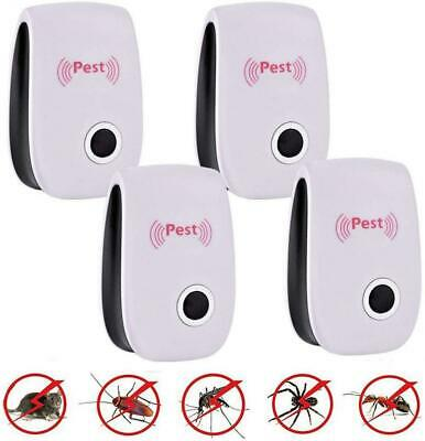 LANSONTECH Ultrasonic Pest Repeller Plug in Control - Electrical 4 Pack