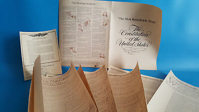 The Constitution Of The United States The Pennsylvania Packet The Bill Of Rights