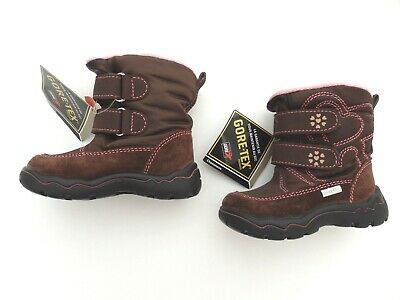 Baby Girl BOOTS * WATERPROOF GORTEX * Primigi 9/12M UK4 (eu20) BNWT