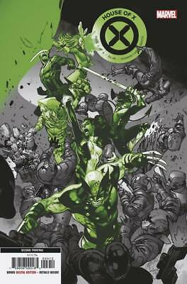 House Of X #4 (Of 6) 2Nd Ptg Marvel Comics 10/09/2019 Eb83